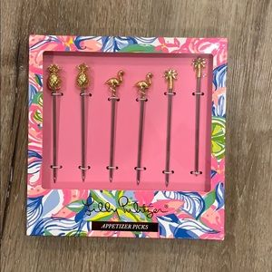Lilly Pulitzer appetizer sticks